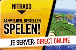 Goedkope minecraft servers, binnen 5minuten opgezet en draaiend!