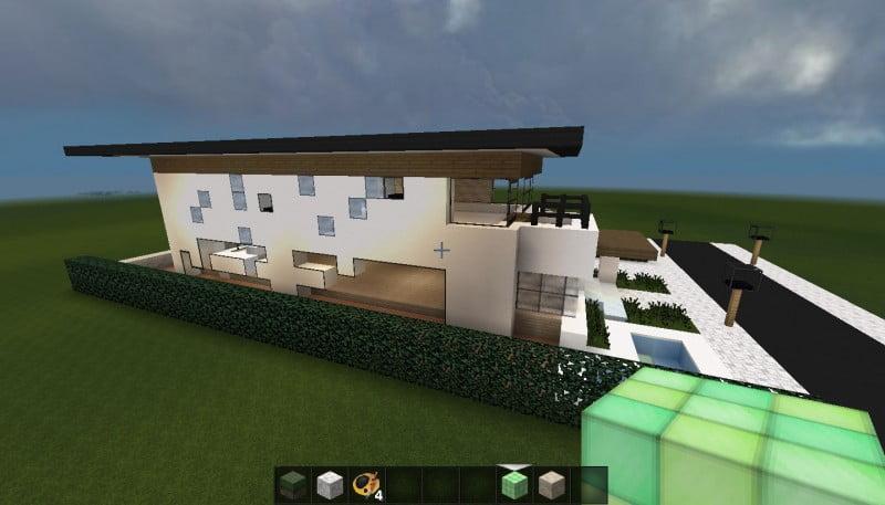 minecraft huis - 496 zijkant