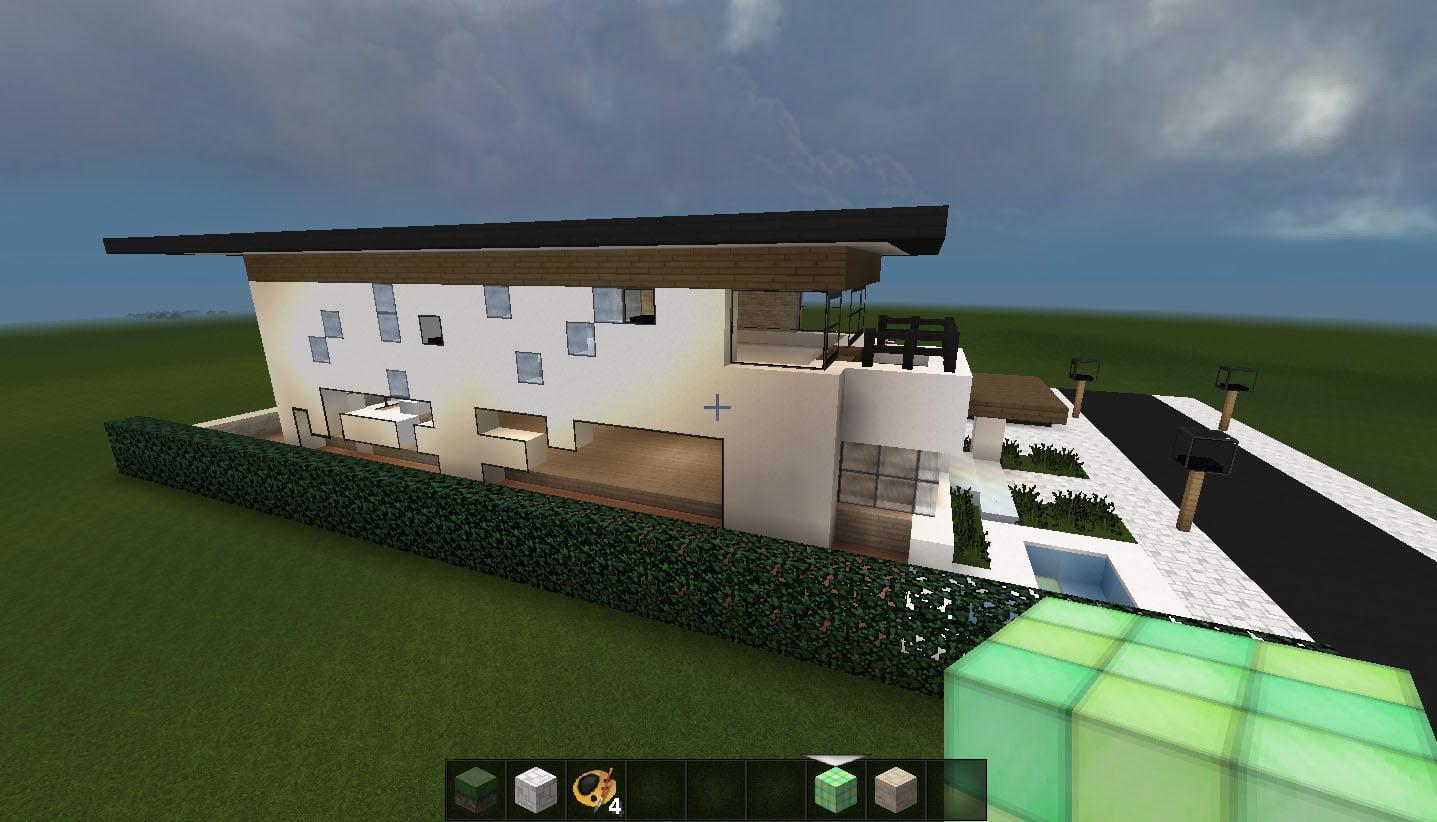 Minecraft Huis 496 Modern House Download En Schematic