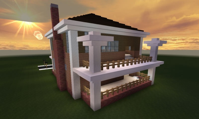 minecraft_huis_country_461_back