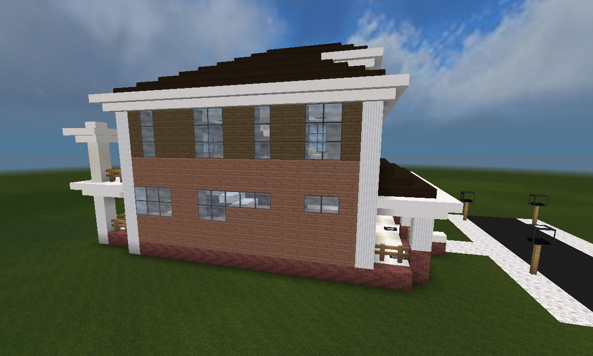 Minecraft Huis - Country House 461 - Inclusief map en