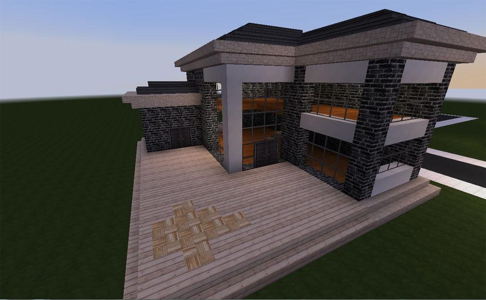 Minecraft Huis Modern 537 Privacy En Rust Minecraft