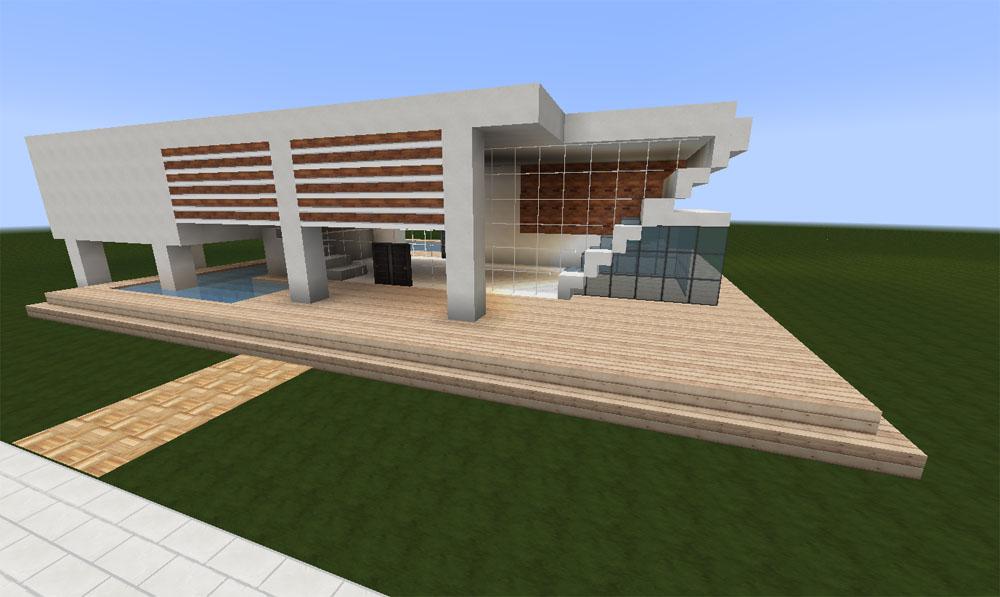 Minecraft huis - modern house 473